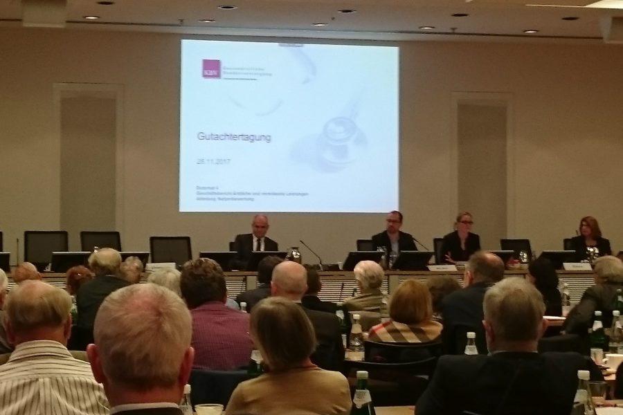 Gutachter-Tagung der Kassenärztlichen Bundesvereinigung KBV am 28.11.2017 in Berlin – erste Infos